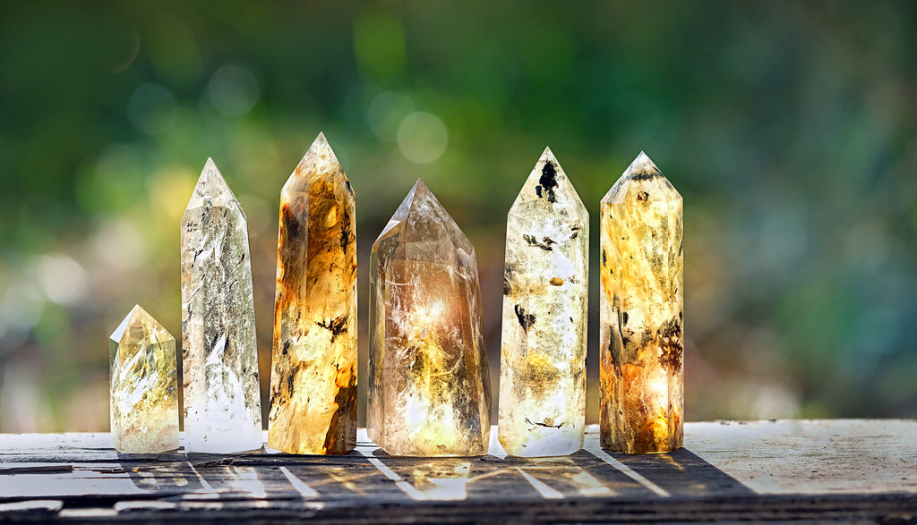Protection crystals for wealth