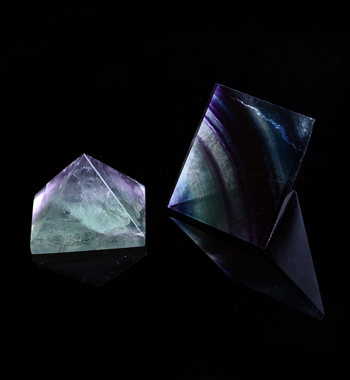 Fluorite Pyramid of Stability