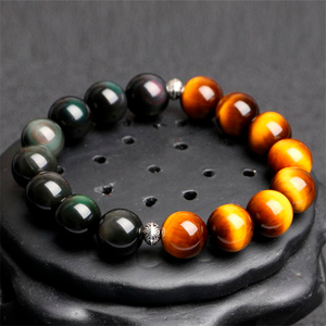Rainbow Obsidian Protection Bracelet
