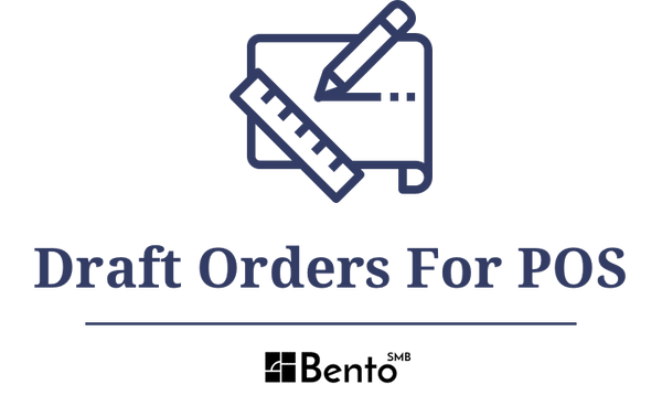 Draft Orders for POS Logo