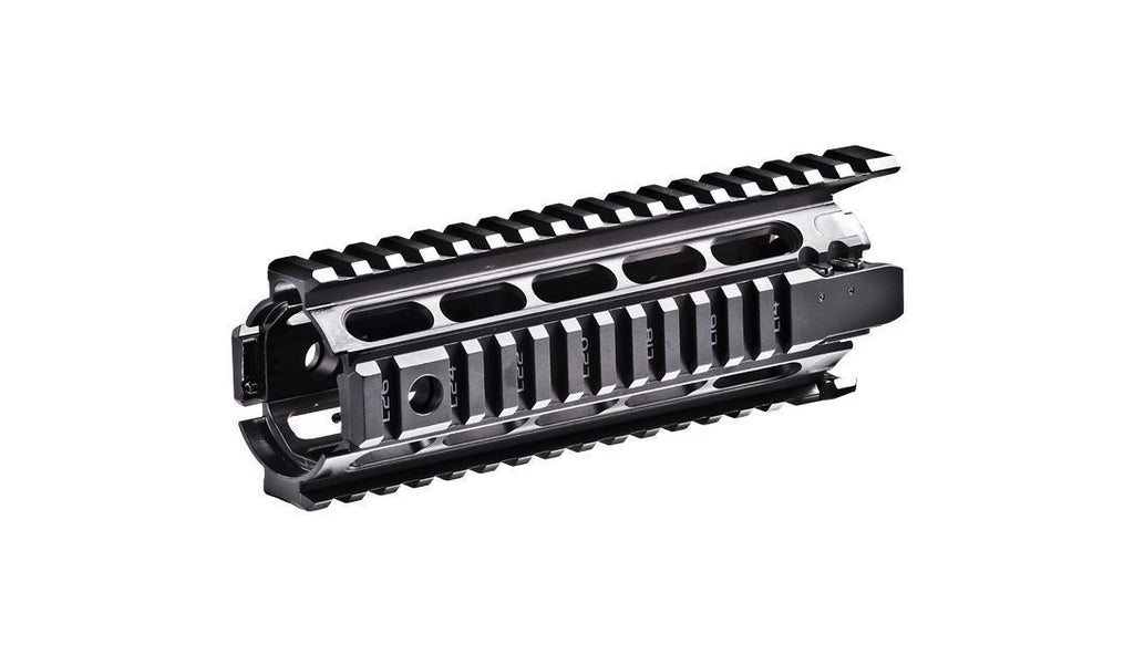 X4MS | AR/M4 Aluminum Quad Picatinny Rail