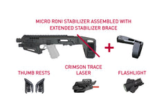 MDW2 | Micro Roni Extended Stabilizer Tactical Kit
