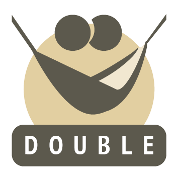 double fabric hammock icon