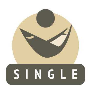 single fabric hammock icon