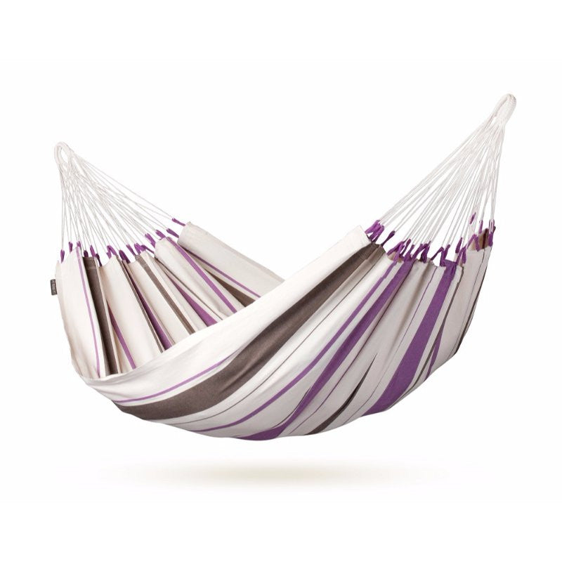 Purple cotton hammock