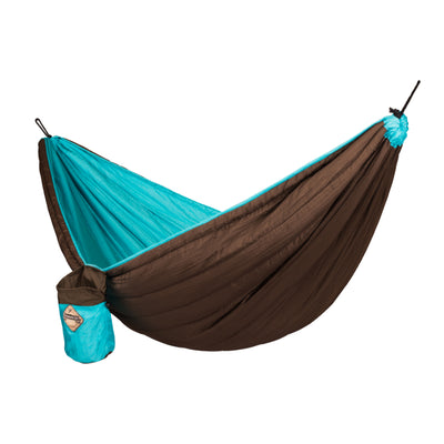 Quilted travel hammock