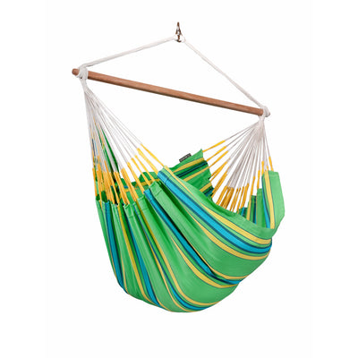 green, blue, yellow chair hammock