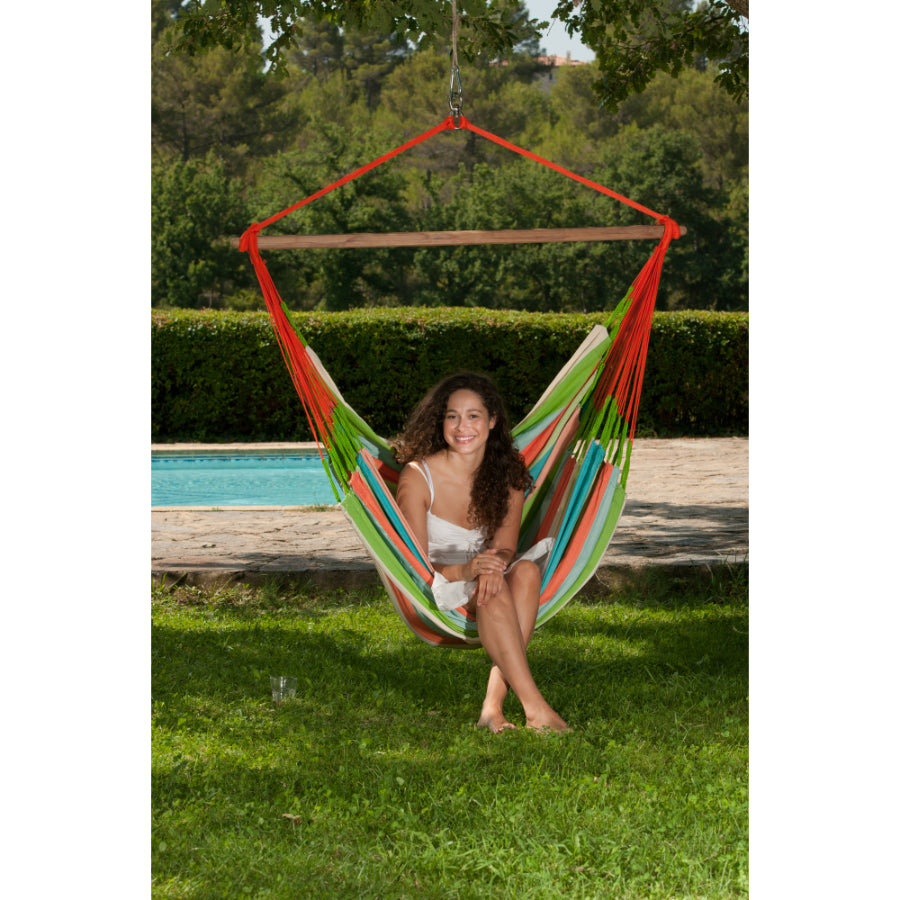 King Size - Chair Hammock - Coral