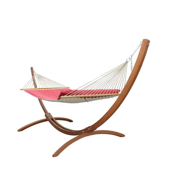 Freestanding Hammock Package - Wooden Stand and Spreader Bar Hammock