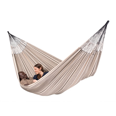 Black and White Organic Cotton Family Hammock