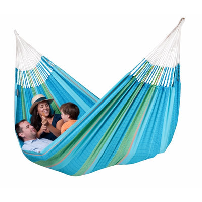 Family Organic Cotton Blue and Green Hammock