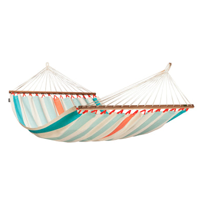 Weather resistant bar style hammock