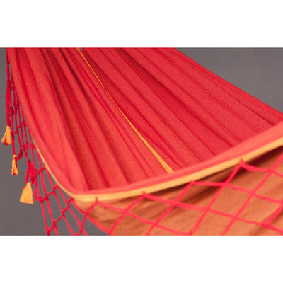 Brazilian Hammock, Red, Yellow, Orange