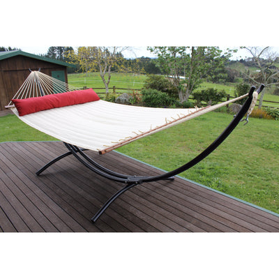 hammock frame black metal