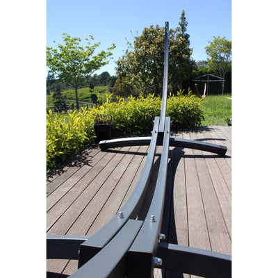 hammock stand detailing