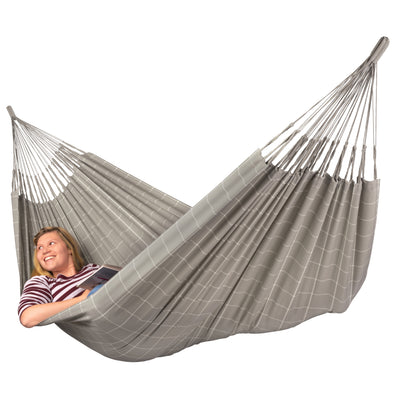 Large hammock in neutral colouring