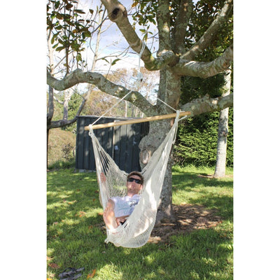Mexican white chair hammock