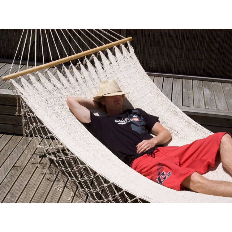 Mexican Resort Style Hammock - Natural White