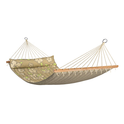 La siesta double coconut hammock with pillow