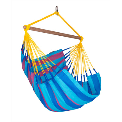 Colourful Chair Hammock in Weather Resistant Material