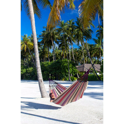 weatherproof tropical beach hammock