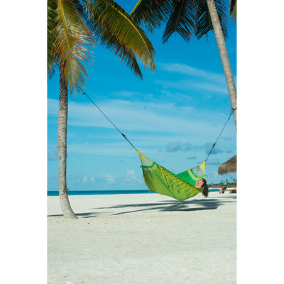 Green and Yellow Brazilian Hammock