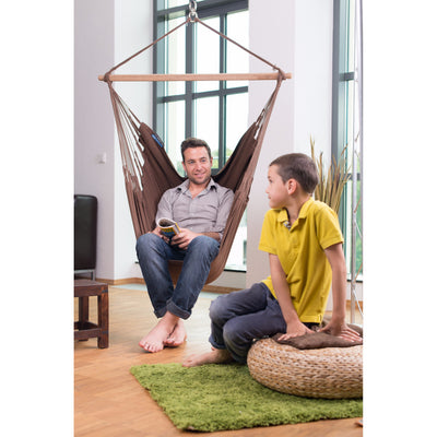 Indoor cotton chair hammock