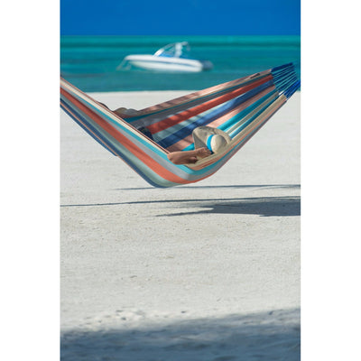 Striped beach hammock