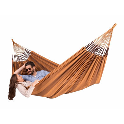 brown outdoor hammock