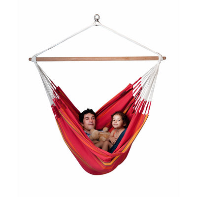king size red cherry chair hammock
