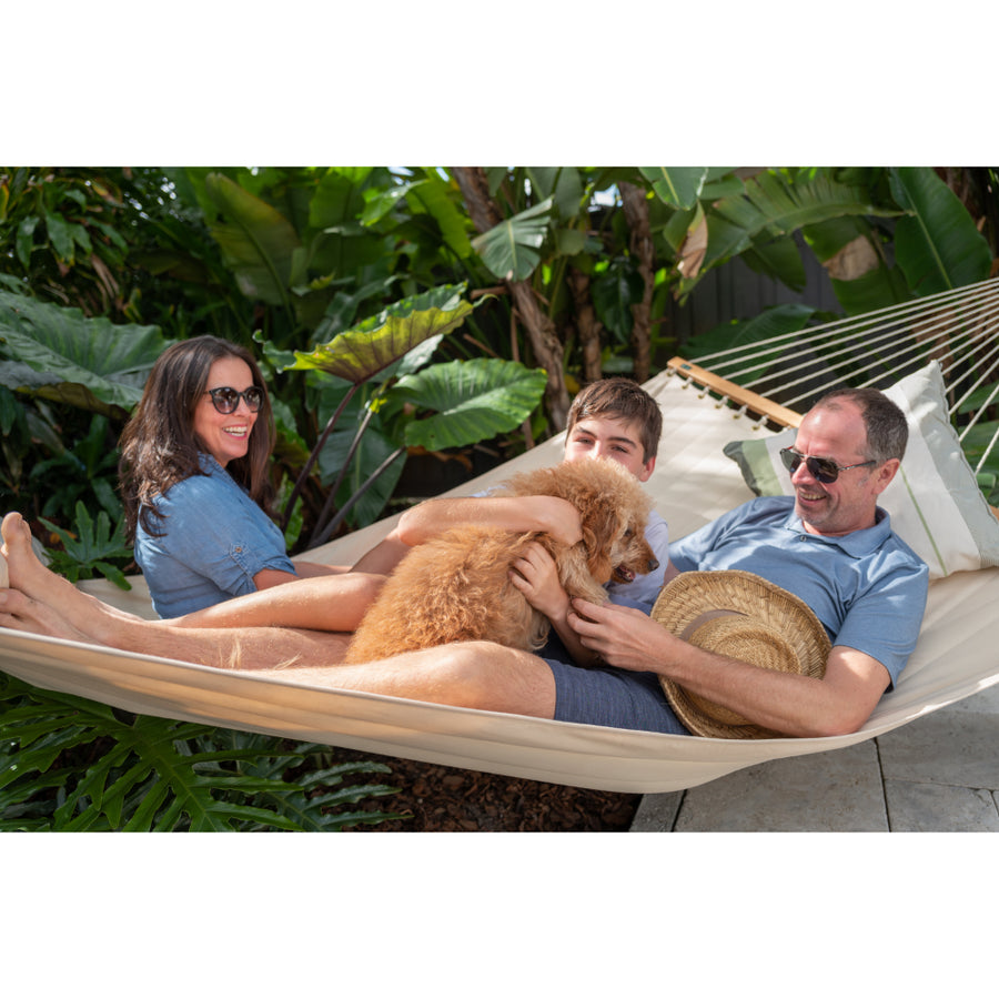 Spreader hammock - king size white