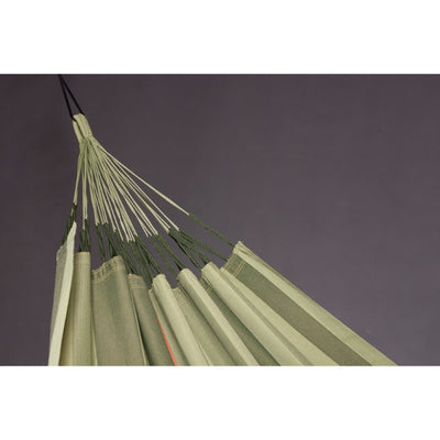 green double outdoor hammock