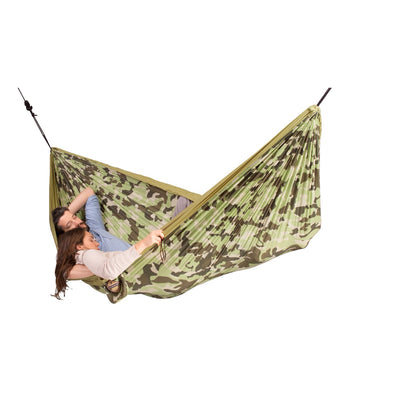 Double Travel Hammock - Camo - Forest