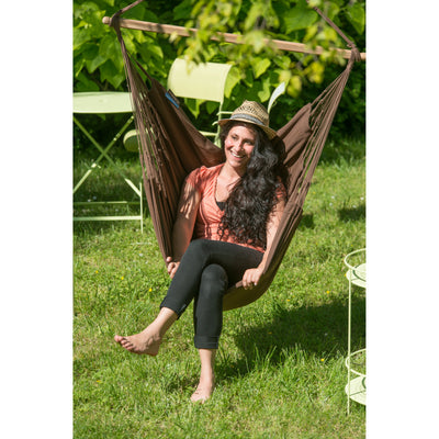 Outdoor cotton chair hammock