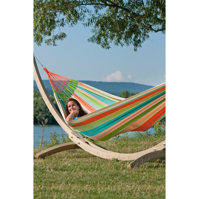 family size hammock and arc shape stand