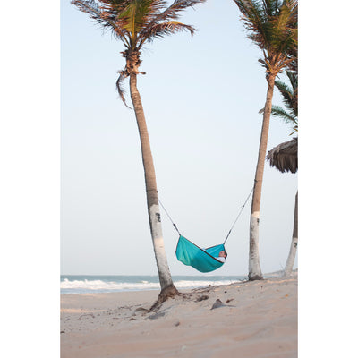 camping hammock turquoise