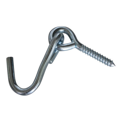 hammock screw and hook for wall and posts