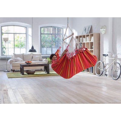 cotton indoor hammock chair