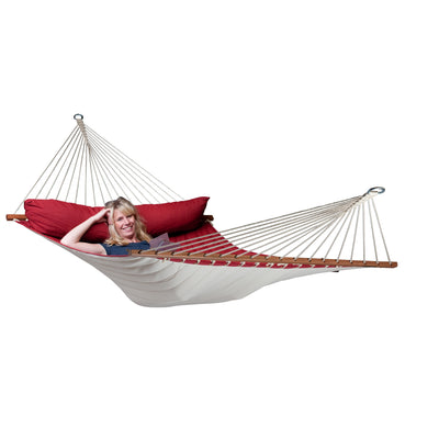 Red Spreader Bar Hammock