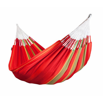 Red Colombian organic cotton hammock