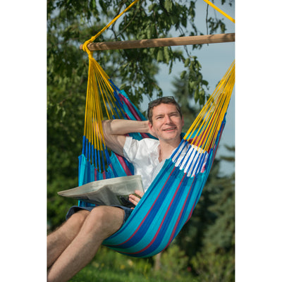 Chair hammock for indoor or outdoor use