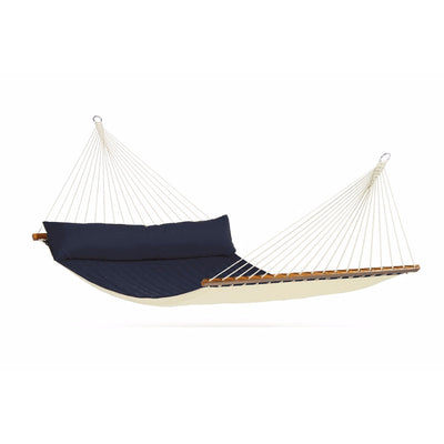 navy blue king size spreader bar hammock