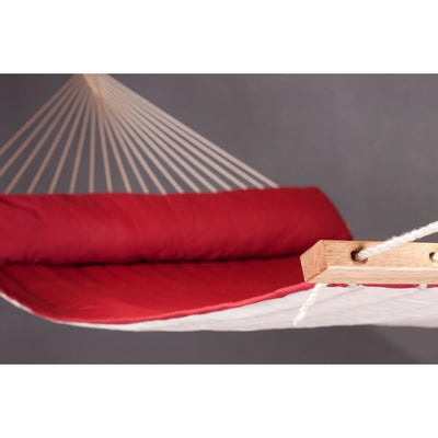 extra large spreader bar hammock in red