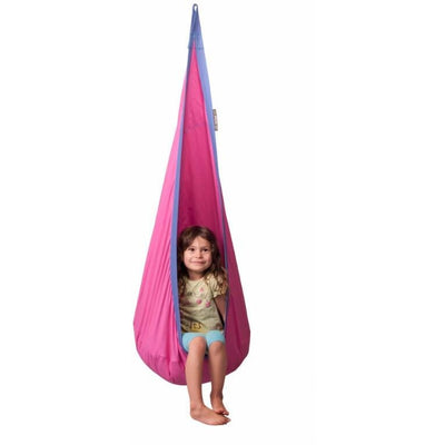 purple hanging nest children's