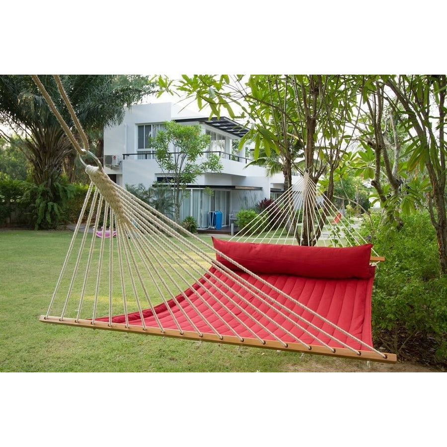 Spreader Bar Hammock - King Size - Red Pepper