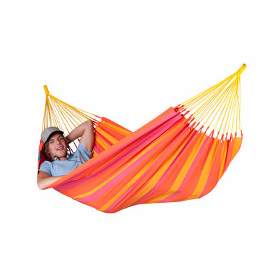 single size orange weatherproof hammock