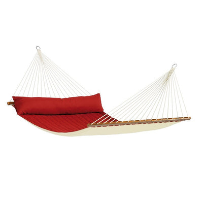 Extra large bar hammock in red