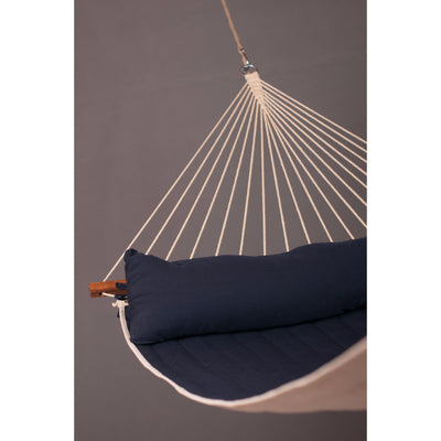 extra large spreader bar hammock blue