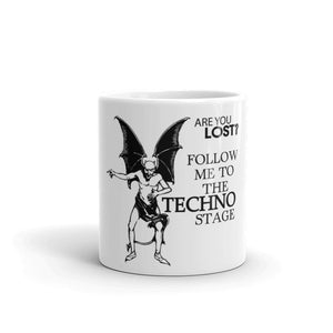 Are You Lost? - Mug - Techno Is The Answer