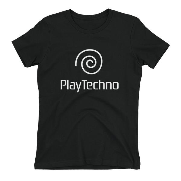 PlayTechno - Ladies Shirt - Techno Is The Answer